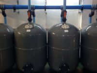 High rate sand filter