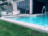 fountains for poolside