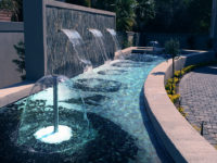 Water bell fountains