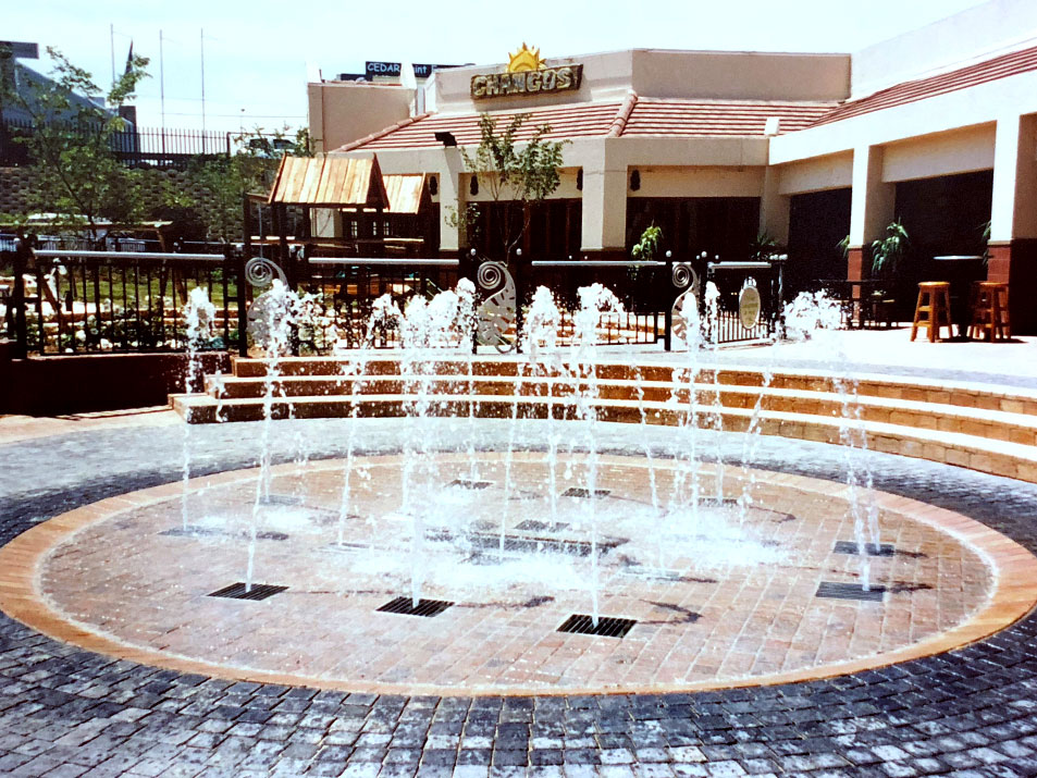 Dray Deck Fountain